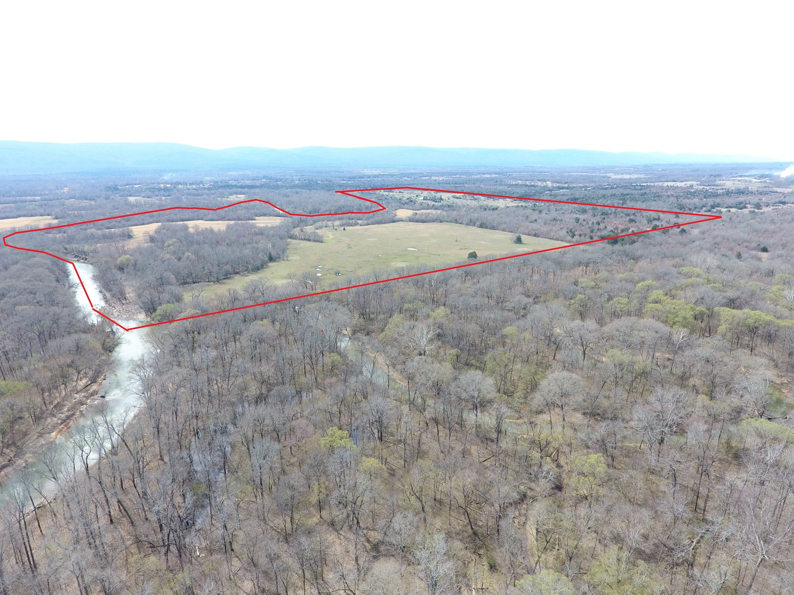 184 Acre - Kiamichi River Ranch – Hunting & Cattle Land