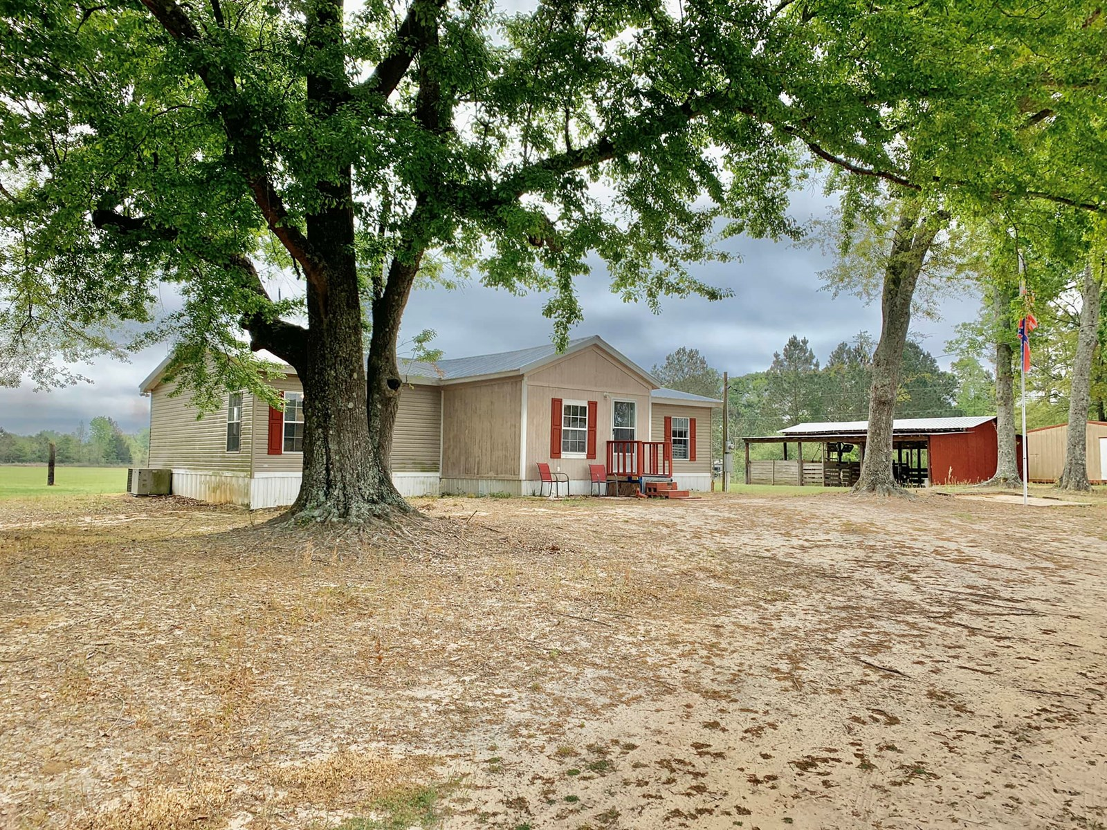 Mini Farm - Home & 4ac - Horse Barn - S of Hartford Alabama