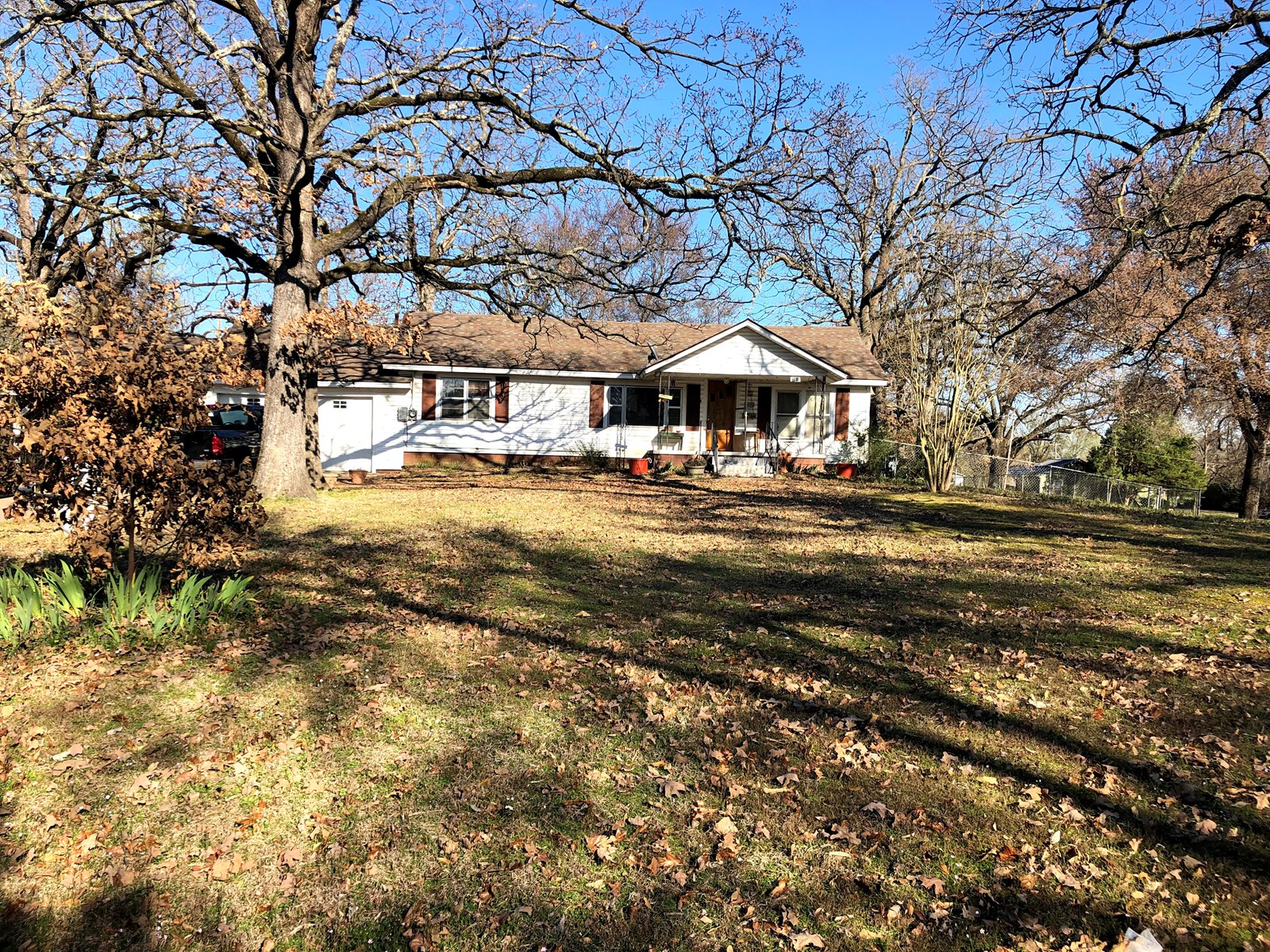 Muldrow home For sale on three lots