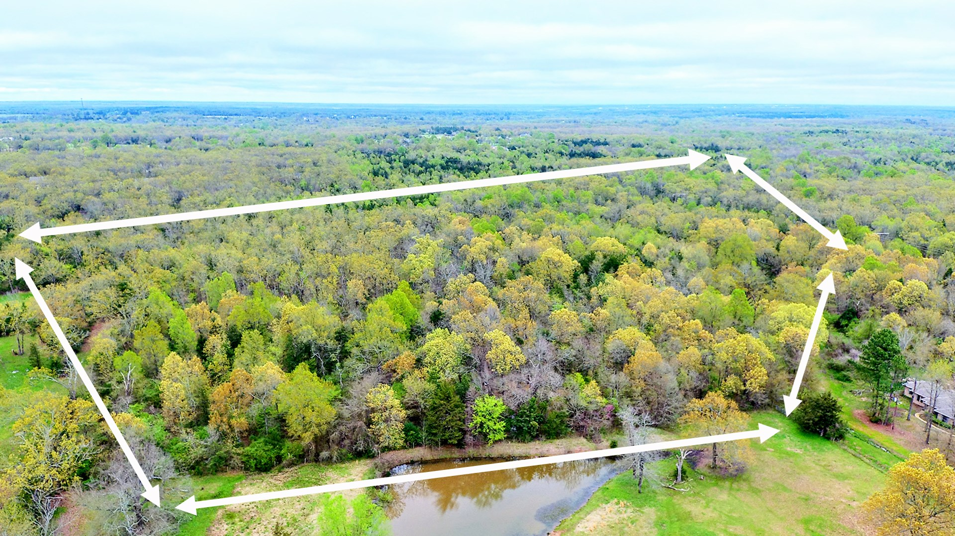 Country Recreational Land For Home-Site For Sale Paris Texas