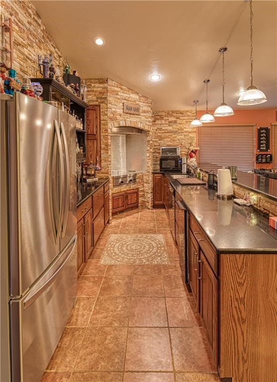 kitchen in the man cave