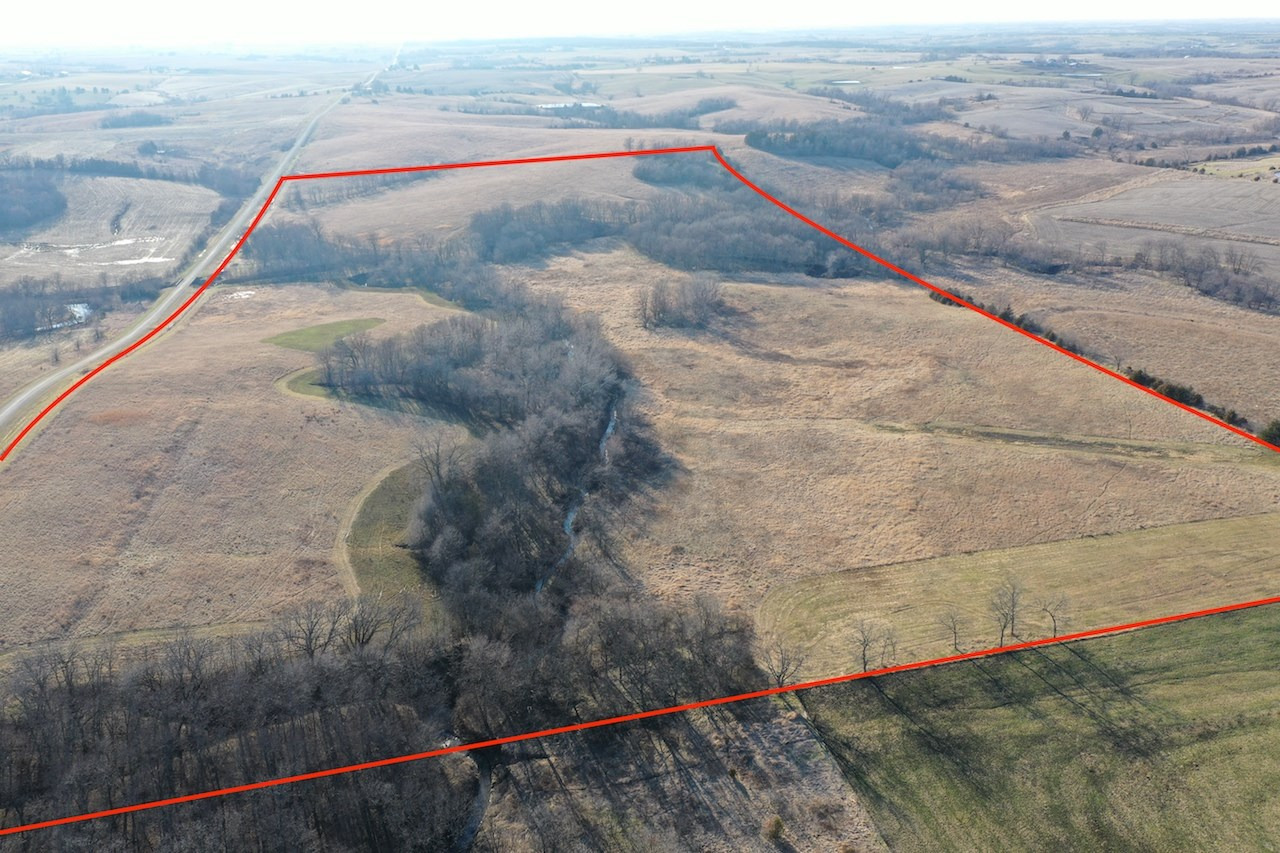 80-Acre Land For Sale in Southern Iowa with Hunting and CRP