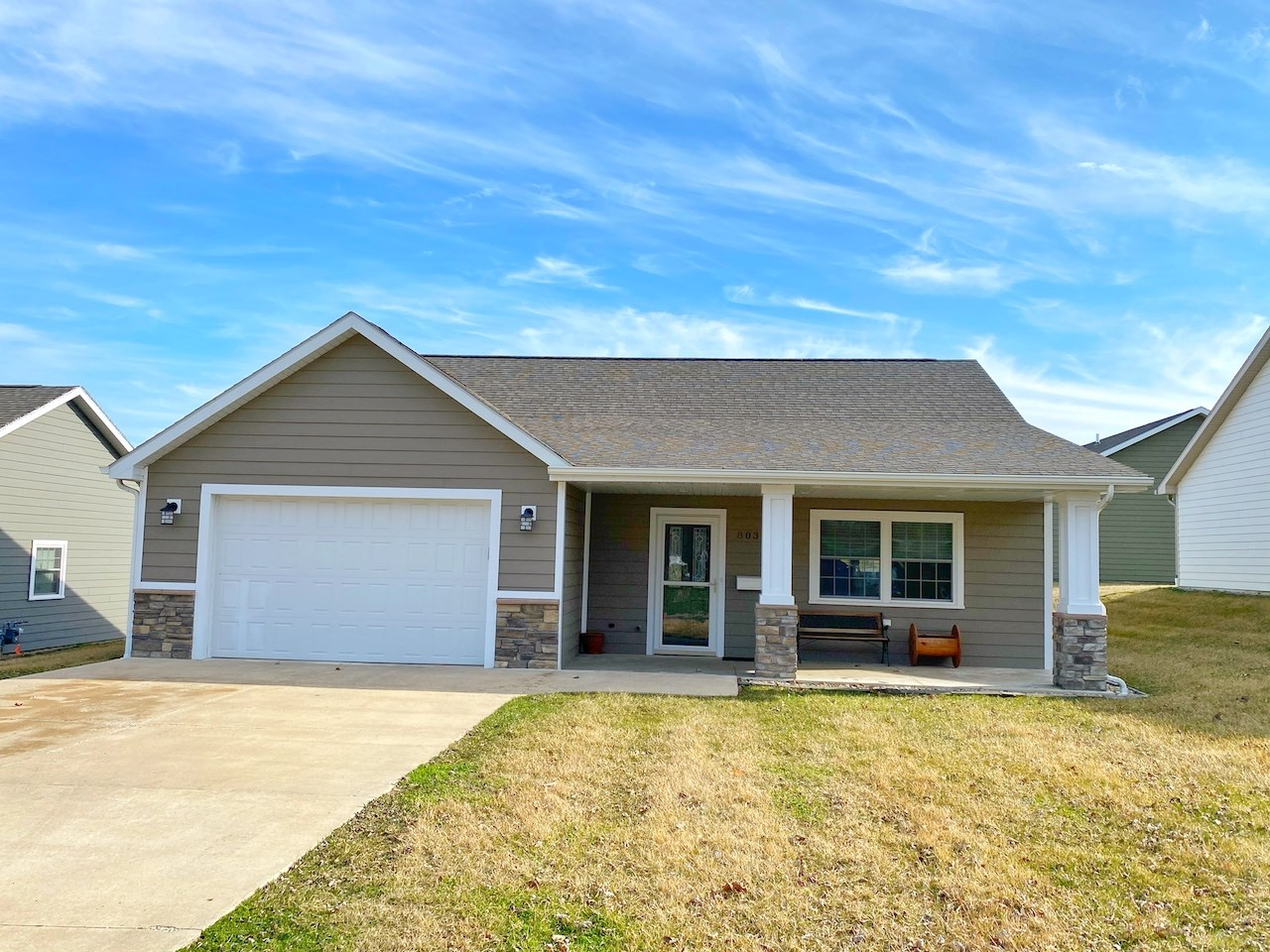 One-Level Home For Sale in Mount Ayr Iowa