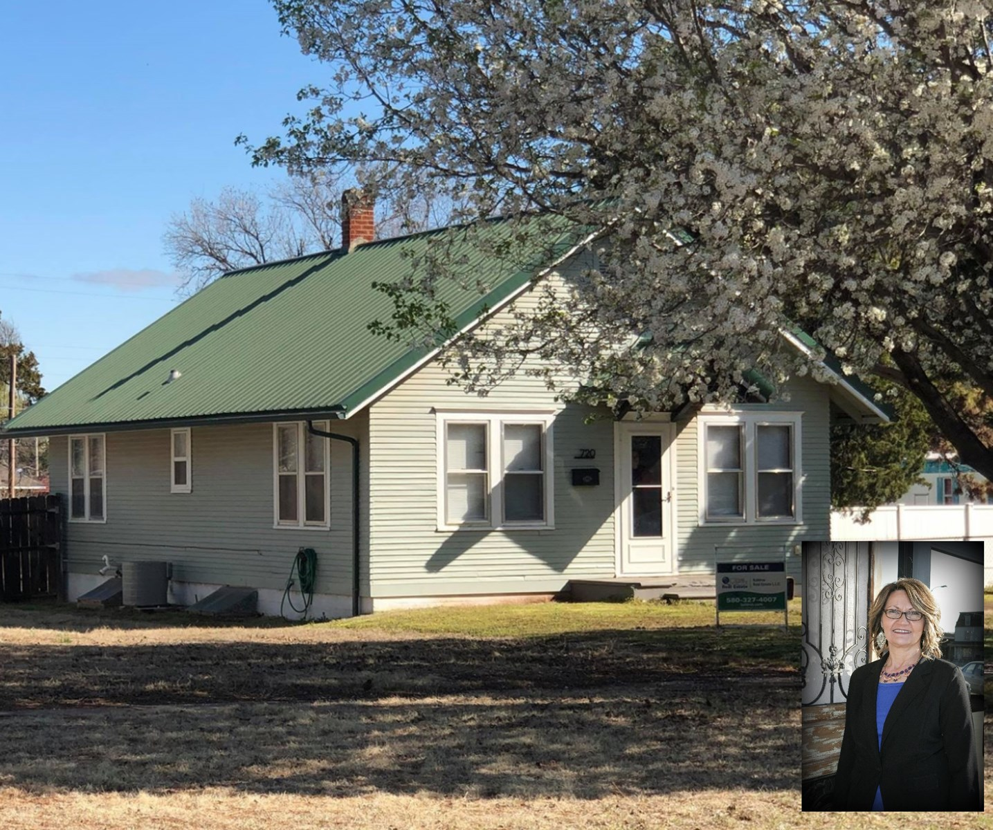 4-5 Bedroom Family Home in Alva, OK with Trailer Parking