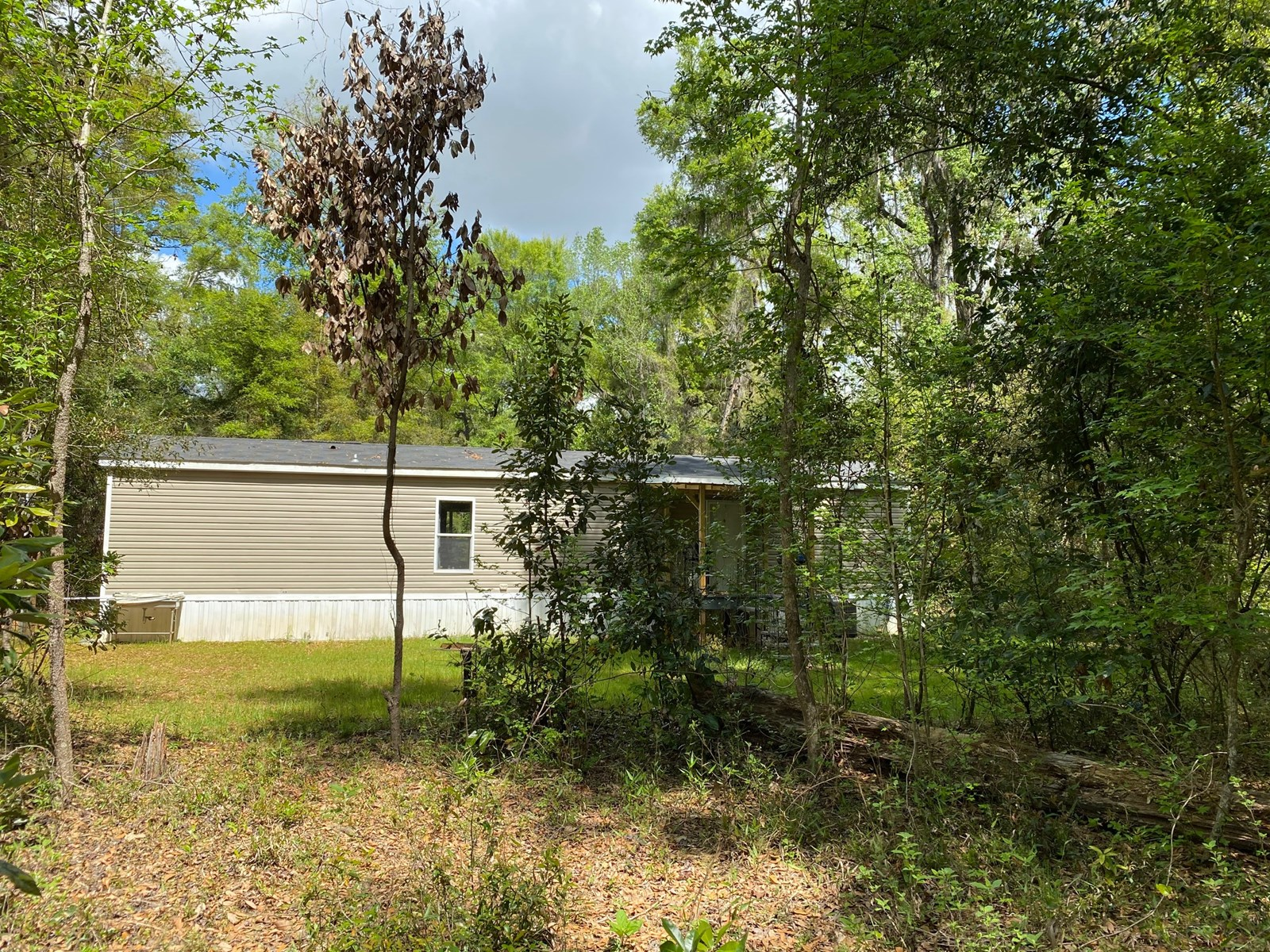 MOBILE HOME ON 5 AC WITH PRIVACY IN FORT WHITE, FL