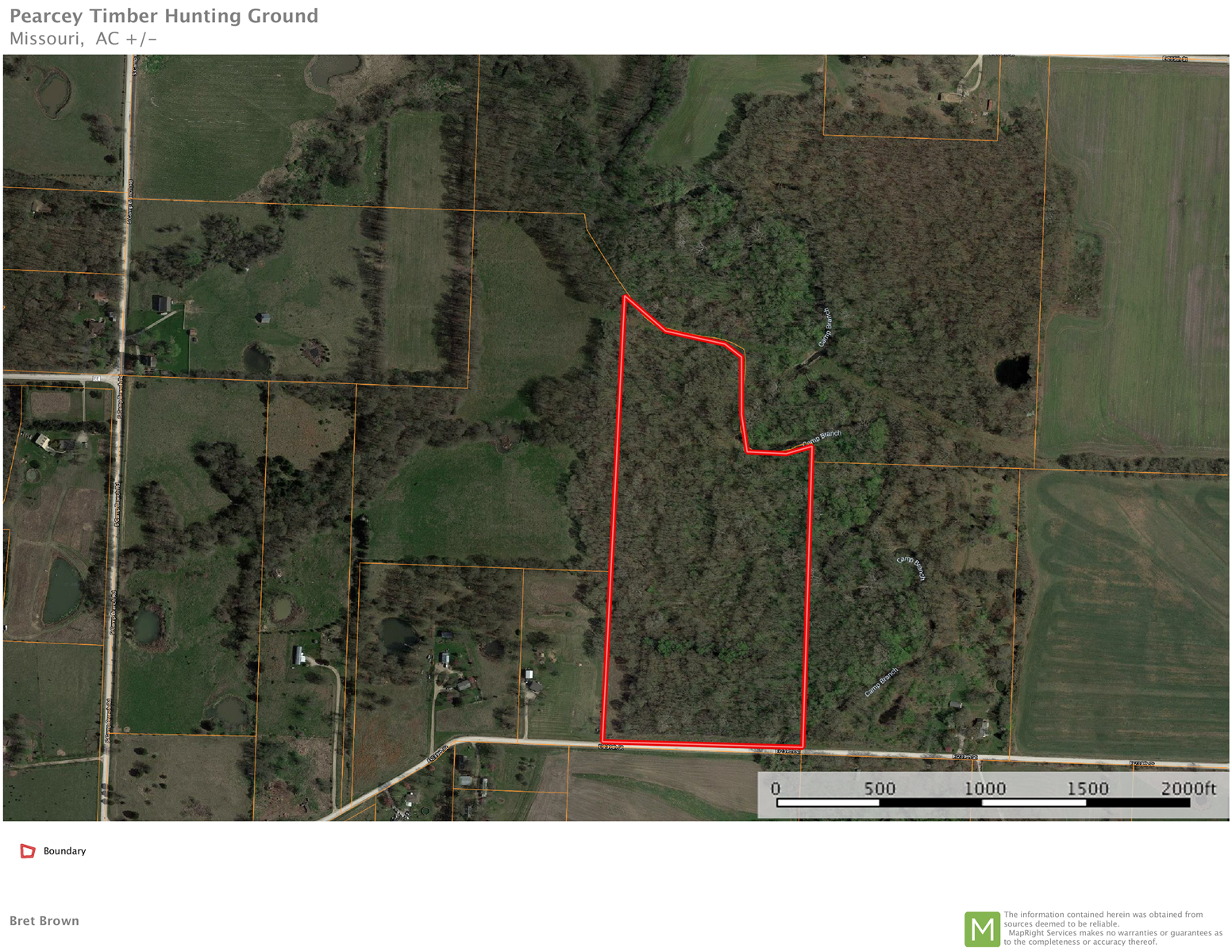 25 +/- acres of land for sale Cass County Mo Harrisonville