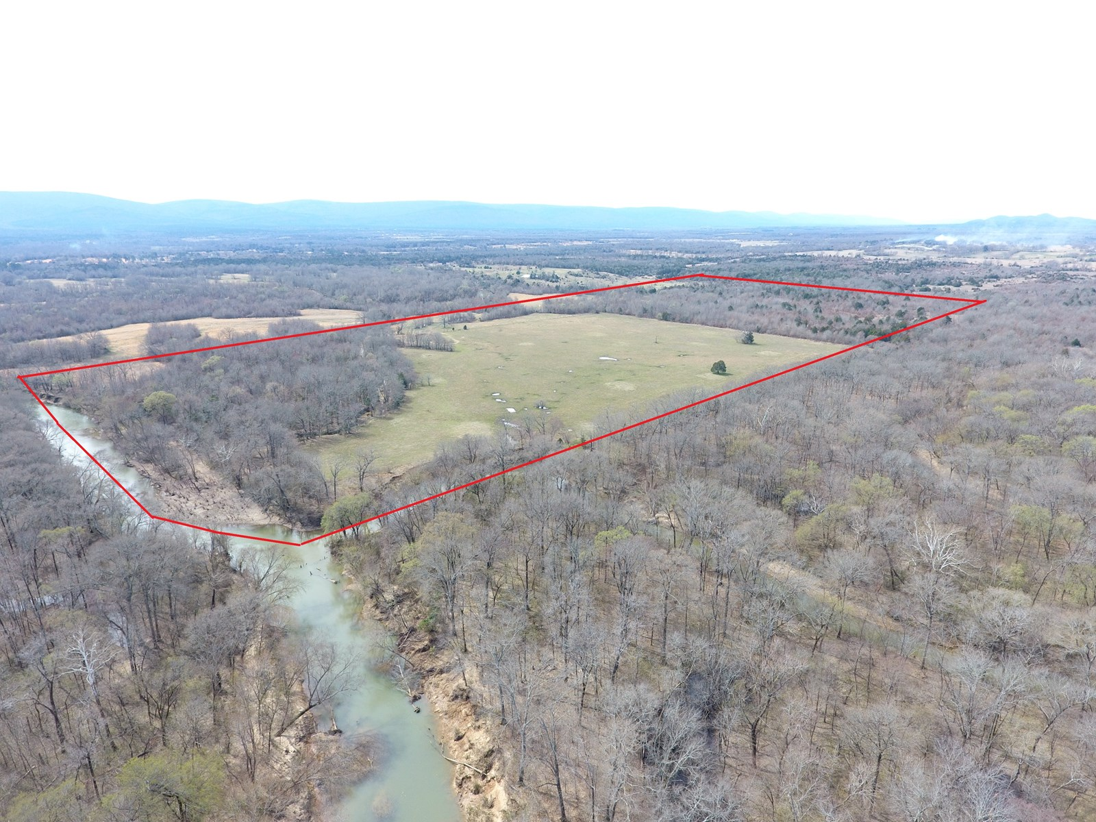 Kiamichi River Ranch – Recreational Property – For Sale