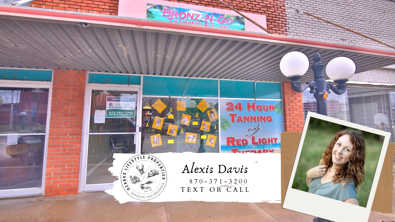 Store front investment property in Salem, AR