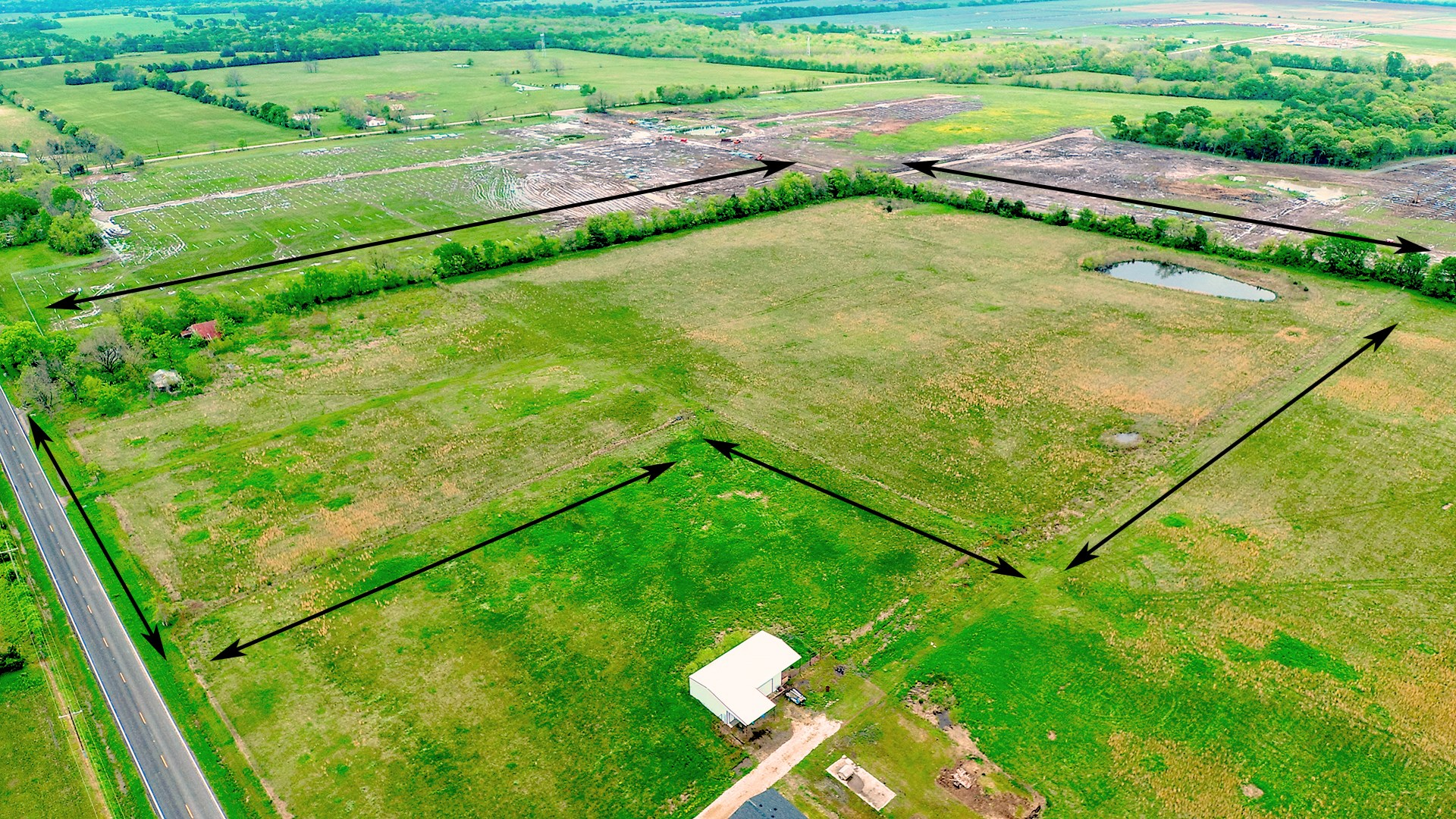 Country Investment Development Land For Sale Pattonville TX