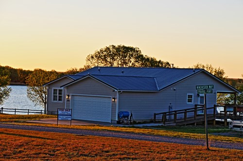 Coldwater Comanche County Red Hills Kansas Country Lake Home