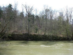 WATERFRONT ACREAGE LAND FOR SALE IN TN - LAND WITH A CREEK