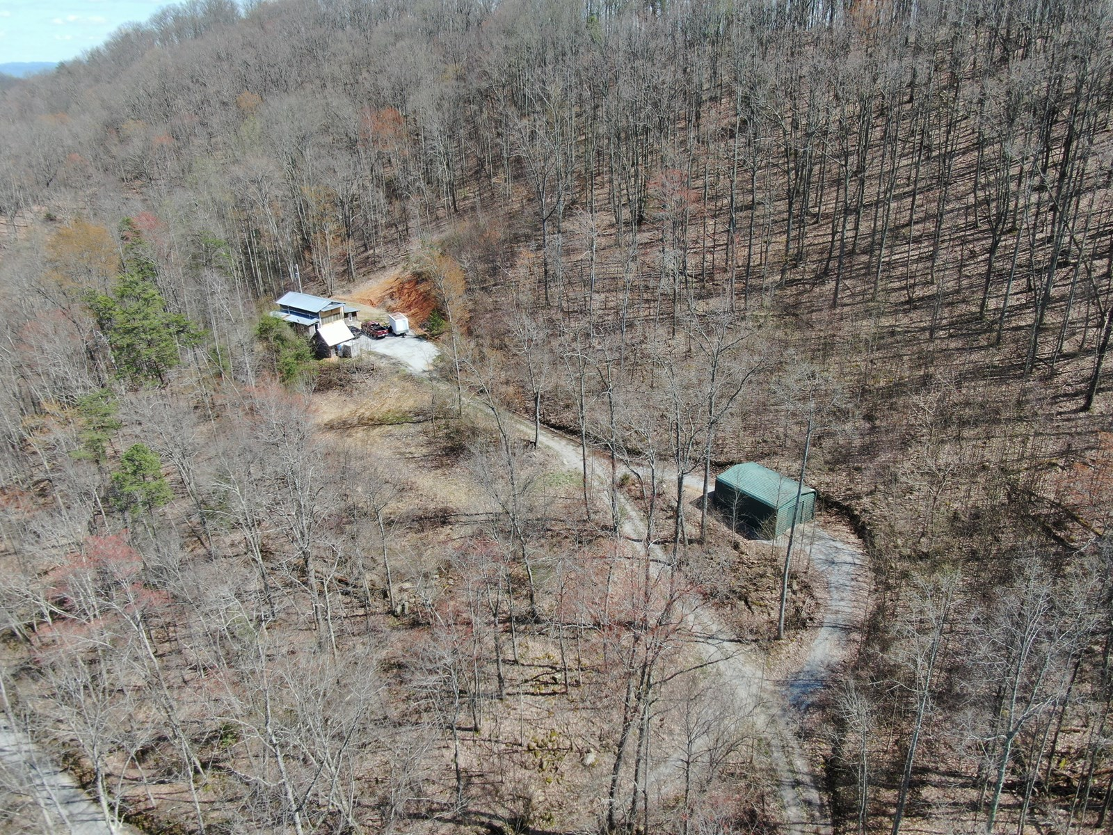 East Tennessee Sustainable Moutain Land for Sale Sneedville