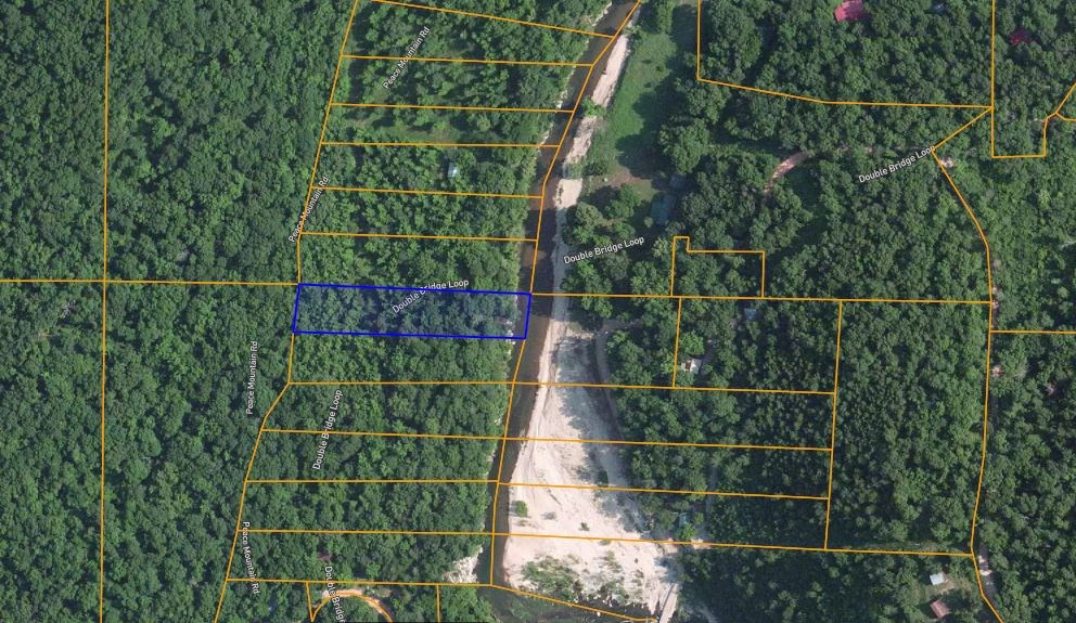 BUILDING LOT WITH CREEK FRONTAGE