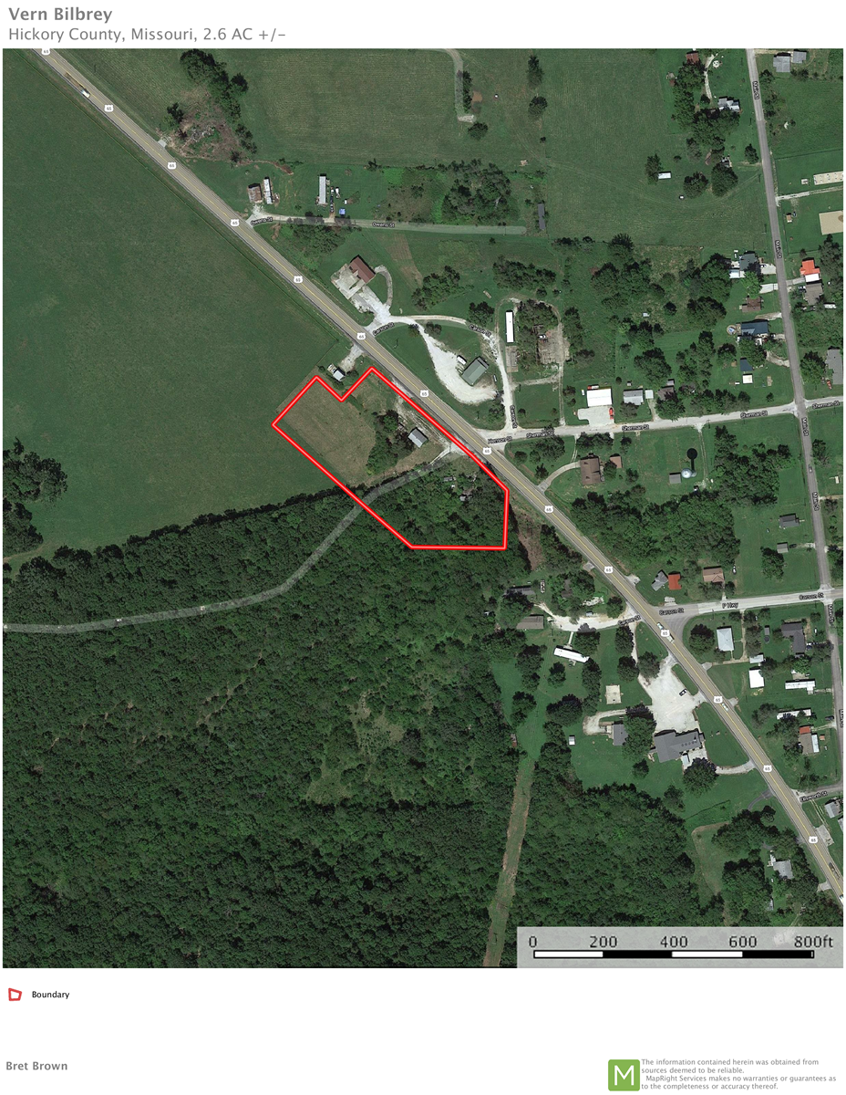2.6 ac Commercial lot for sale Cross Timbers, Hickory County