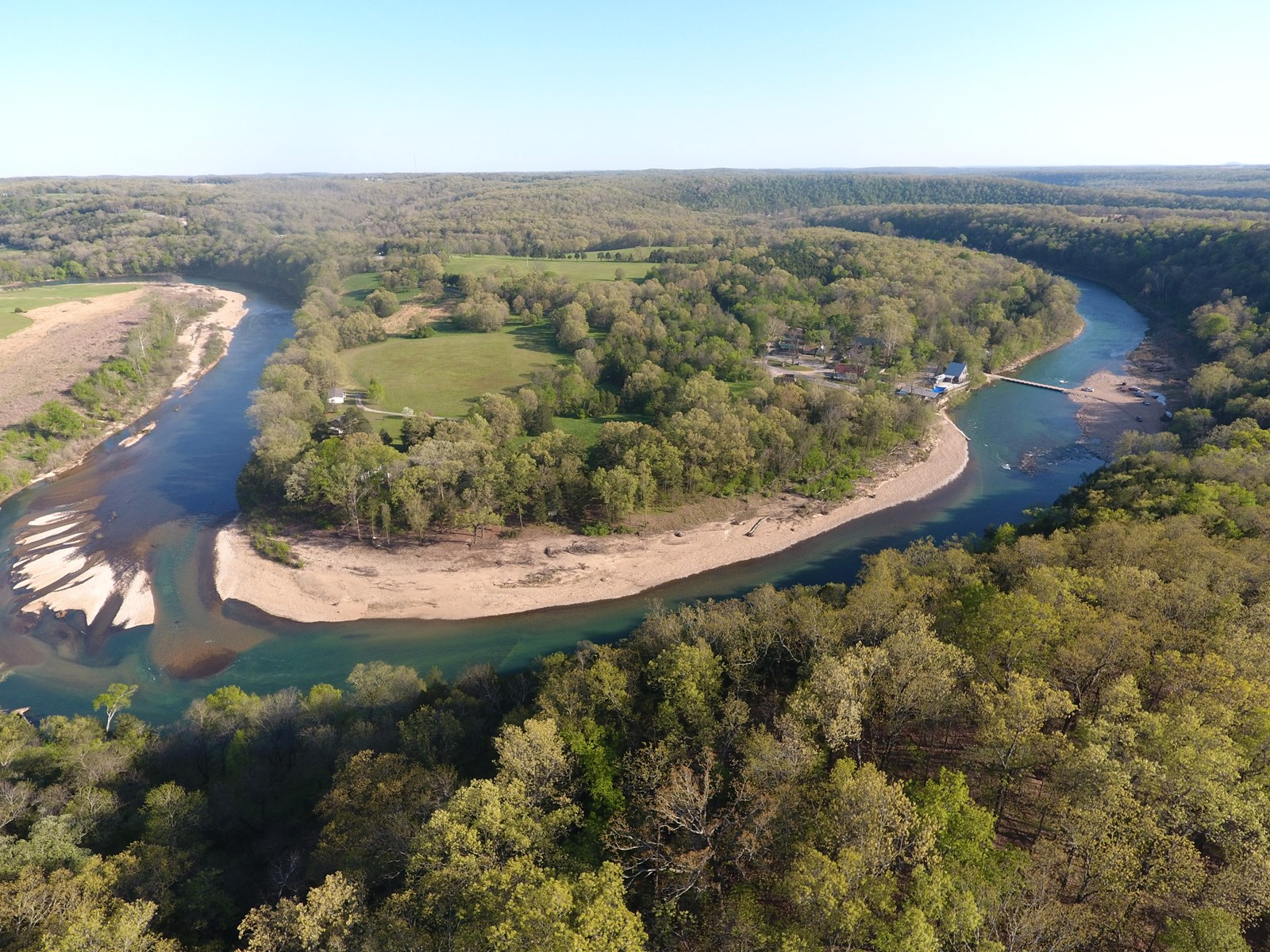 River Front Property For Sale in The Missouri Ozarks!