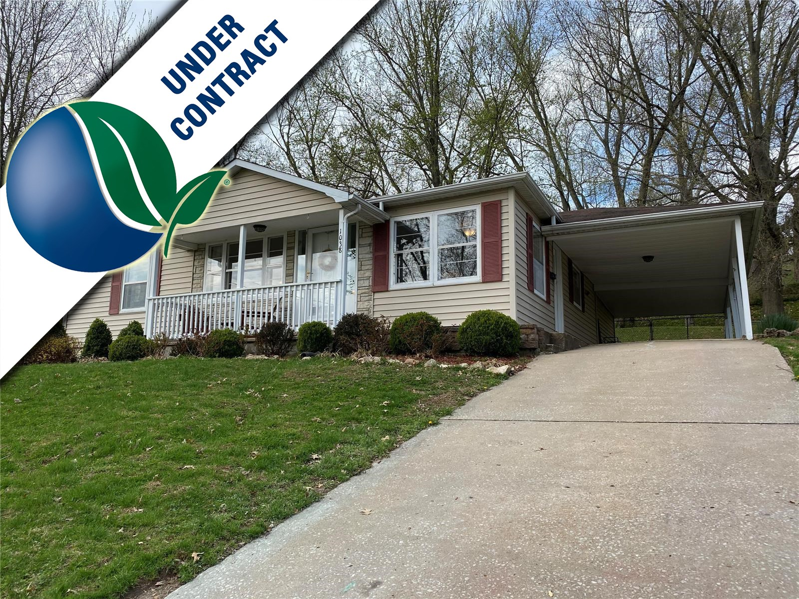 Three bedroom ranch for sale in Hermann MO!