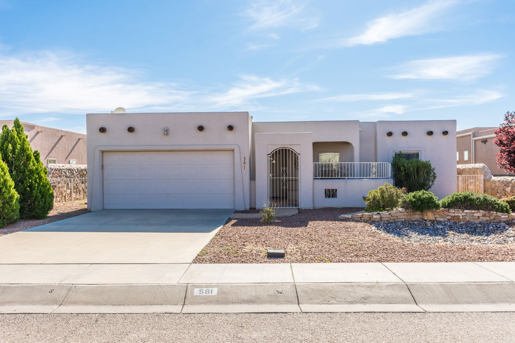 3BD 2BTH Southwest Style Home in Las Cruces, NM