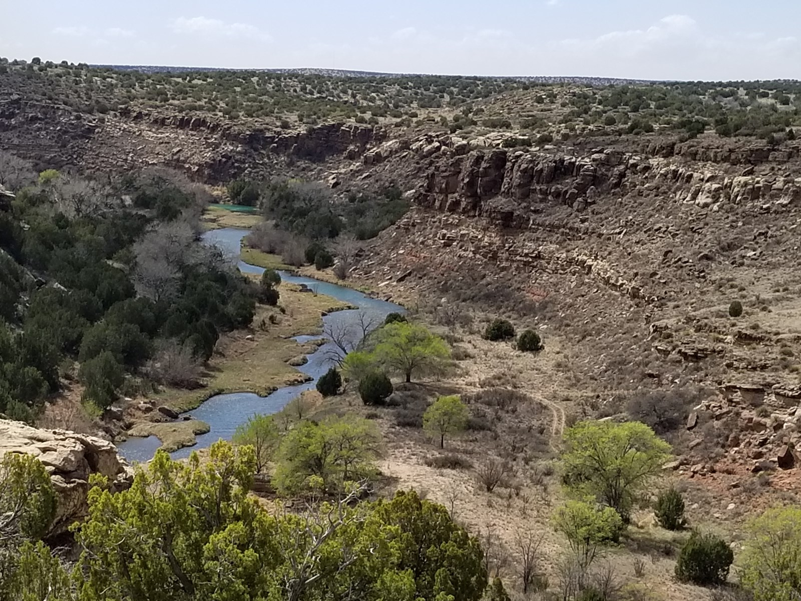 Pecos River Ranch with Hunting & Fishing, Santa Rosa NM