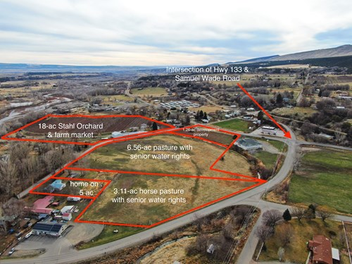 Paonia Colorado development parcel for sale has water rights