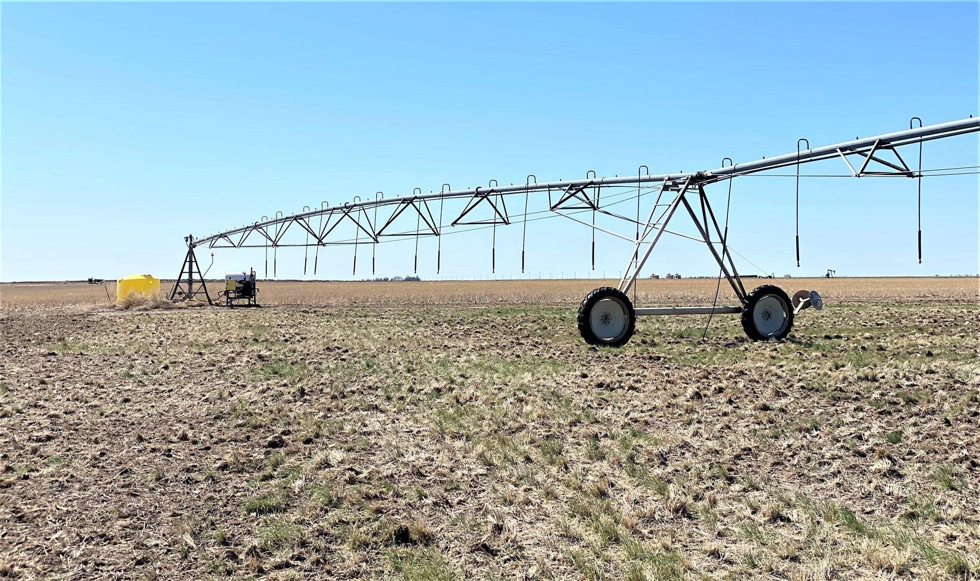 160.5 +/- Acres Irrigated Pivot Lane County, KS For Sale
