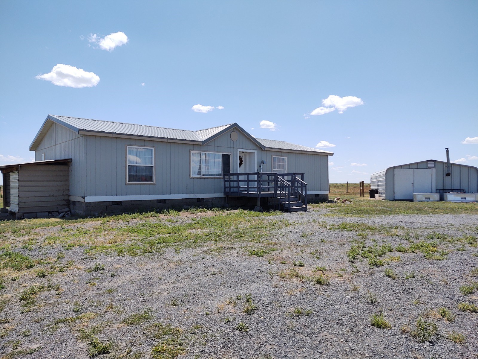 13 MILES EAST OF BURNS OR - 19.60 ACRES W/ 3 BD, 2 BTH HOME