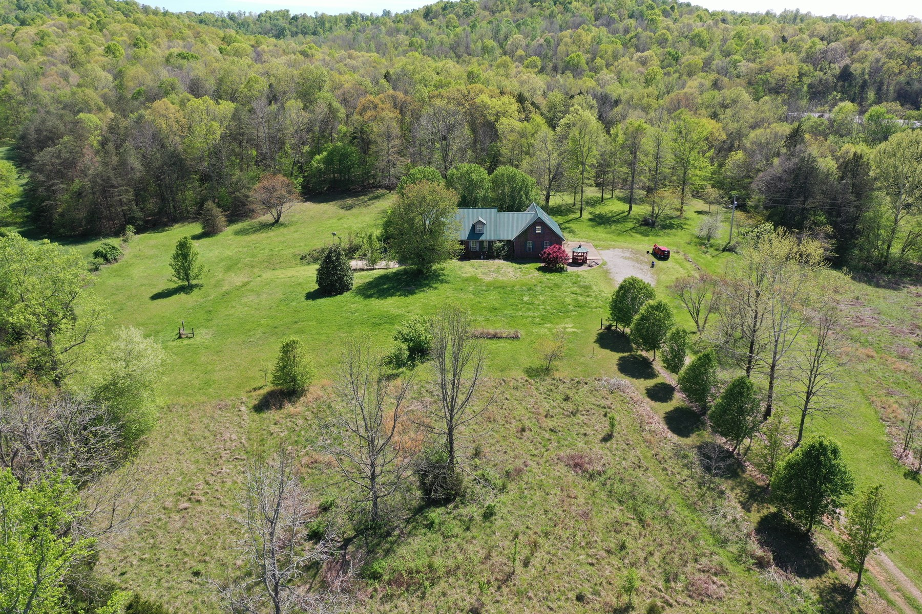 County Home on 15 private acres!