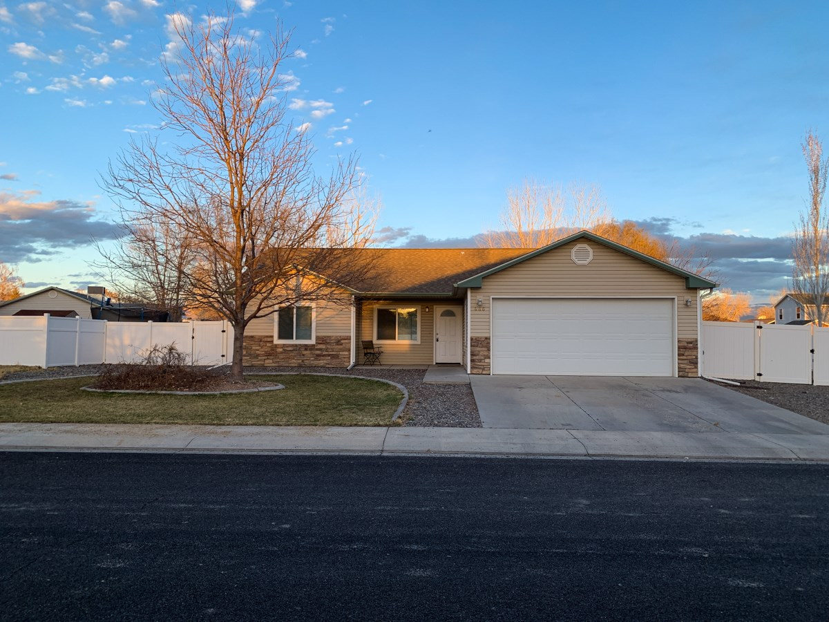Grand Junction Colorado Home For Sale, 3 Bed, 2 Bath