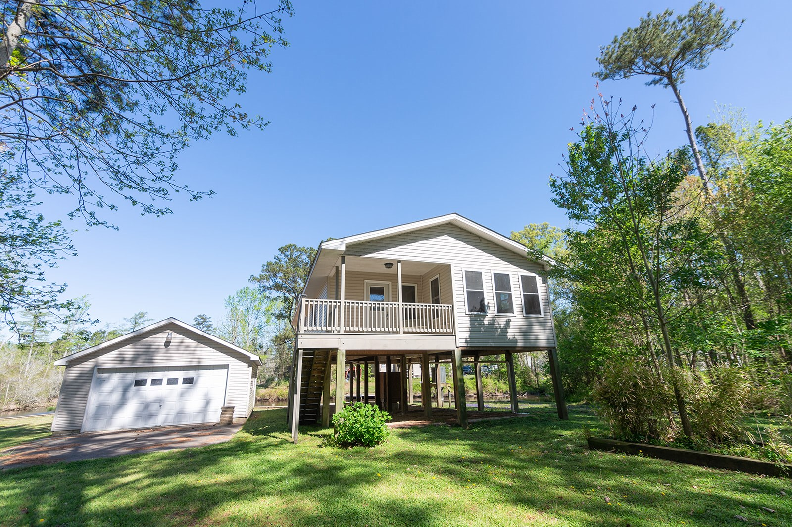 Canal Front Home in Albemarle Sound Waterfront Community