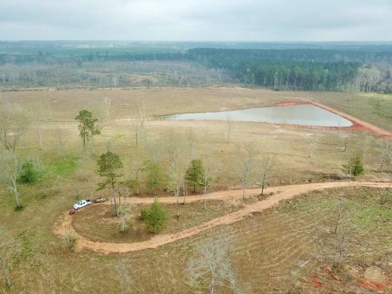 47.11 Acres Cleared Land for Sale Pond Magnolia, Pike Co, MS