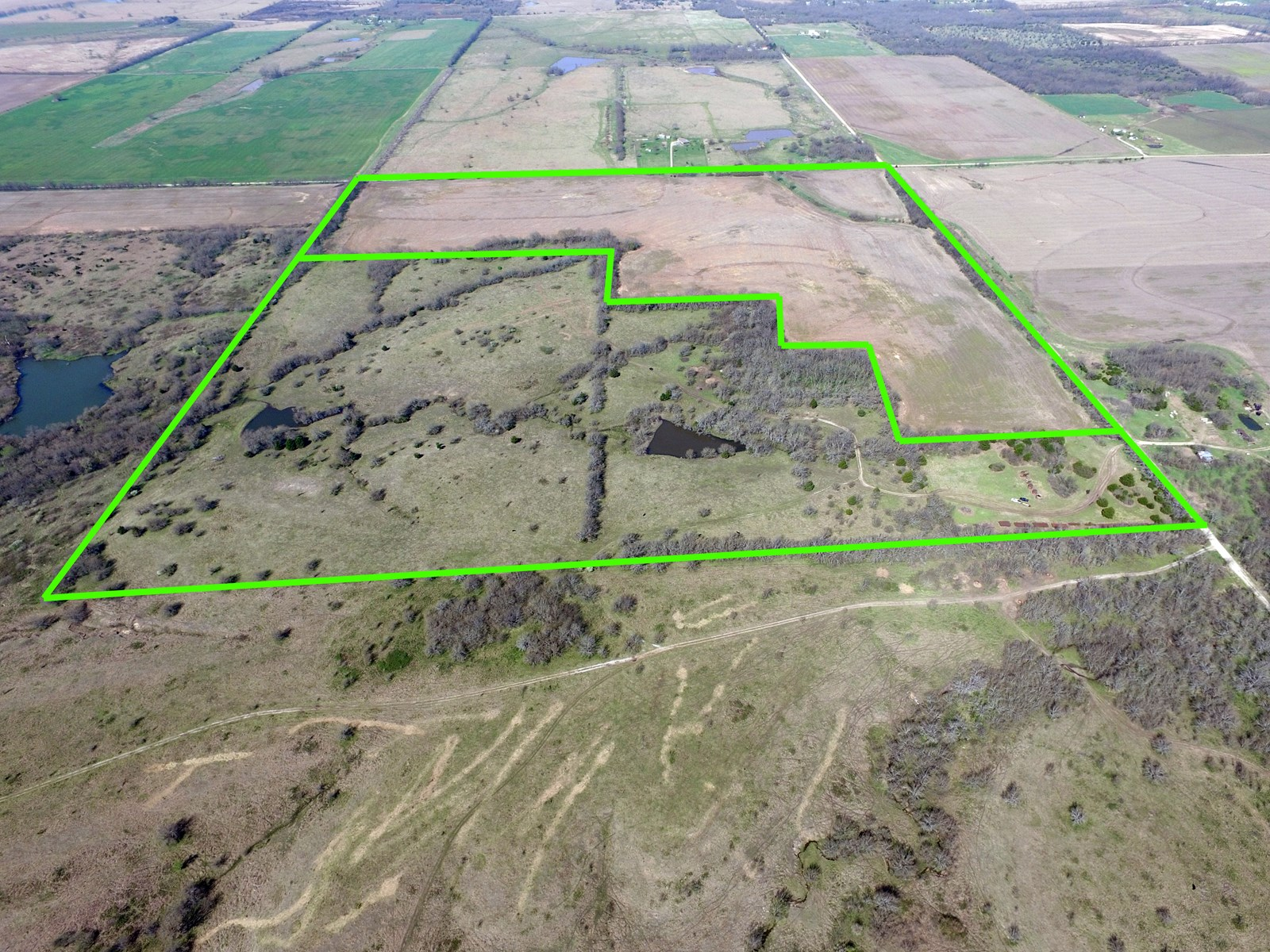 Cowley County KS Farm Land Online Only Auction