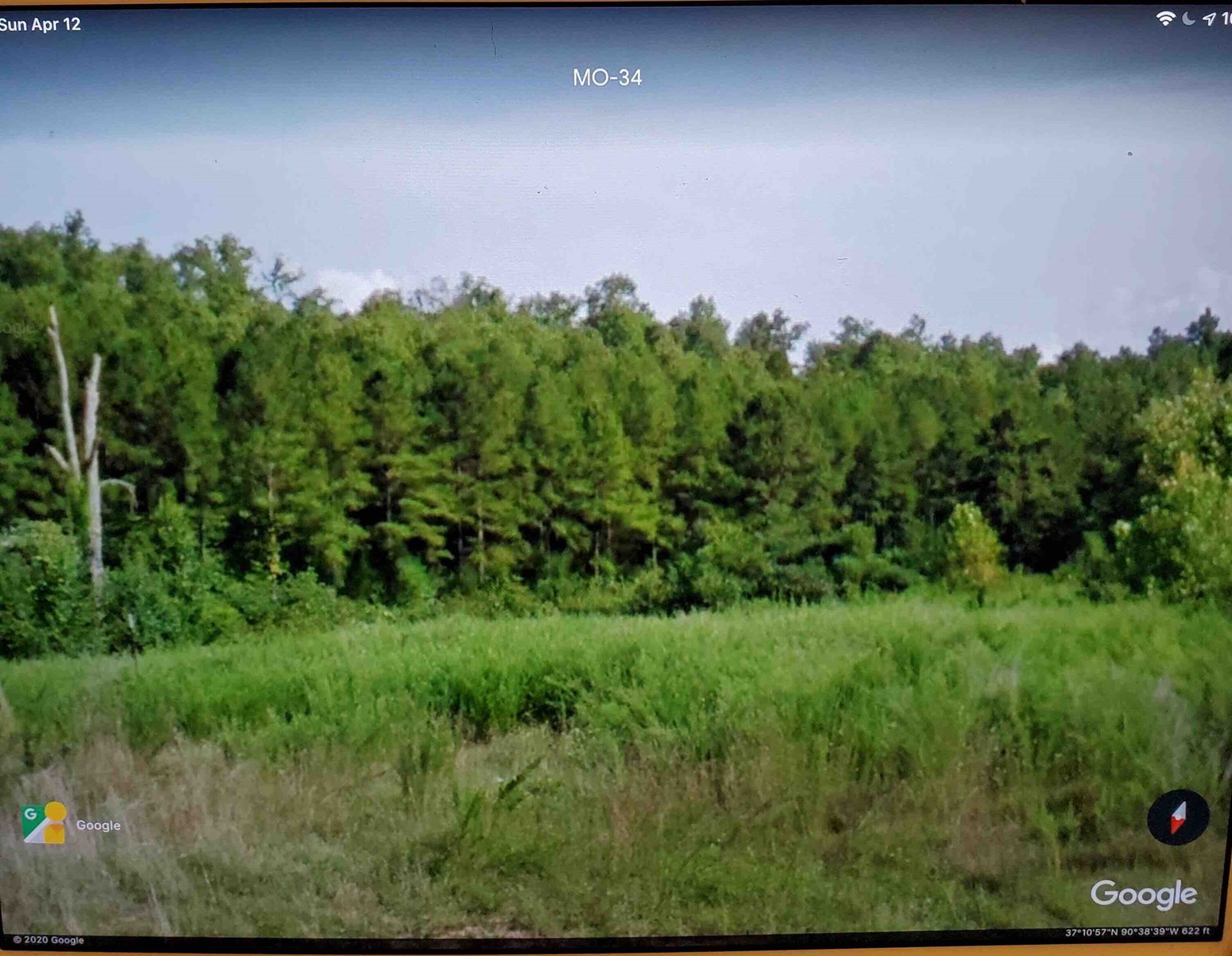 Land for sale near Piedmont Mo