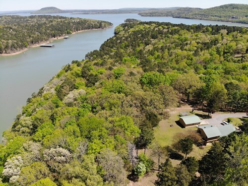 Lakefront Home on Greers Ferry Lake w/Acreage For Sale