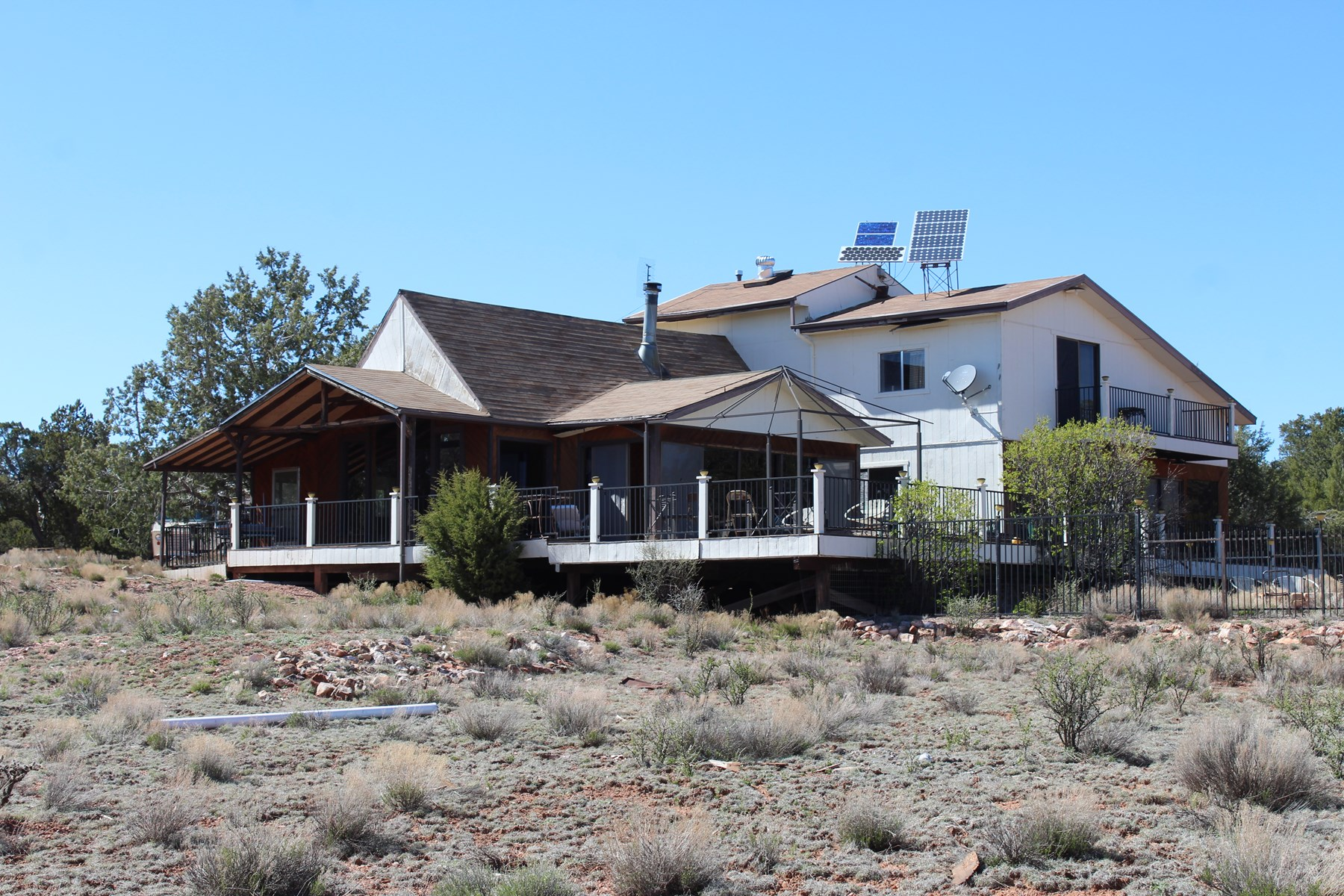 Rural Off Grid Home on 40 Acres for Sale Near Route 66 AZ