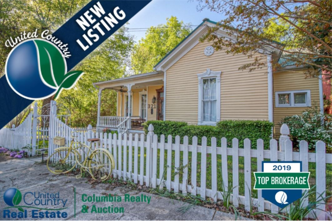 Updated Historic Home Located in Downtown Columbia Tennessee