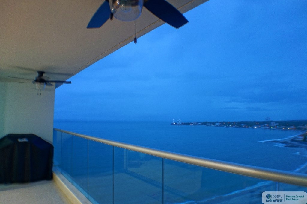 Ocean breezes on Balcony