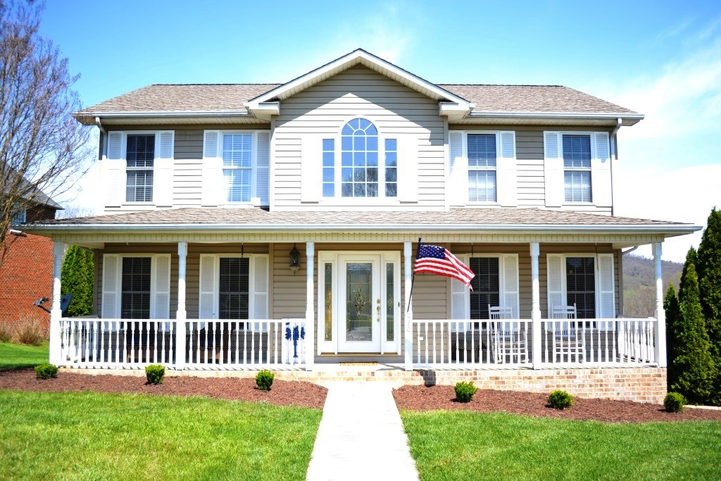 2 story home with breathtaking views in Wytheville, VA