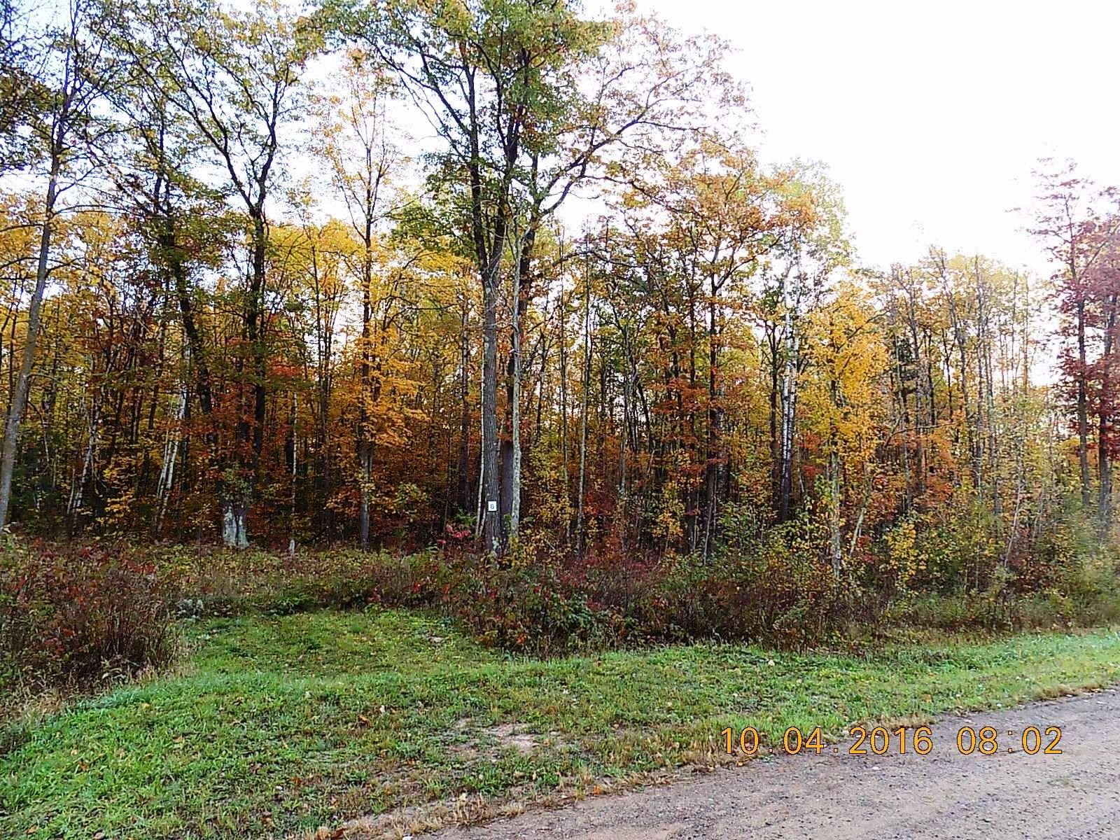 Building Lot with Acreage Located 100 Miles from Twin Cities