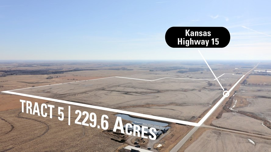 Washington County KS Irrigated Tillable For Sale