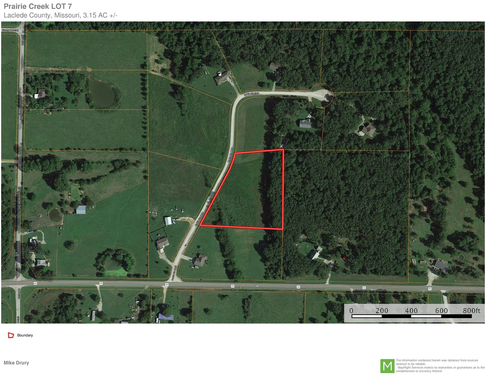 Vacant buildable  Residential Lot in Country Subdivision