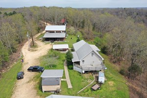 2 HOMES W/ SHOP - 102 ACRES TIMBER W/CREEK  $425,000