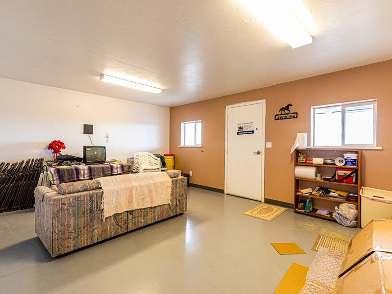 Apartment storage/living area