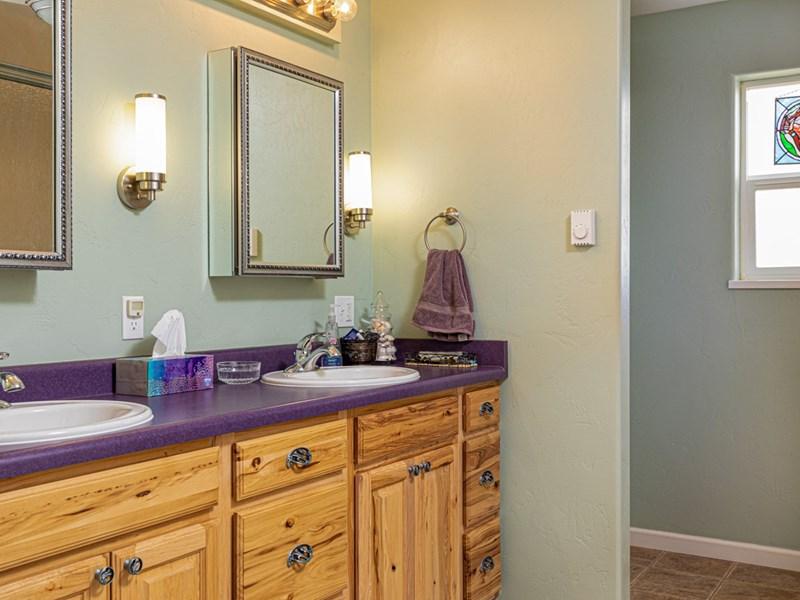 Home master bathroom