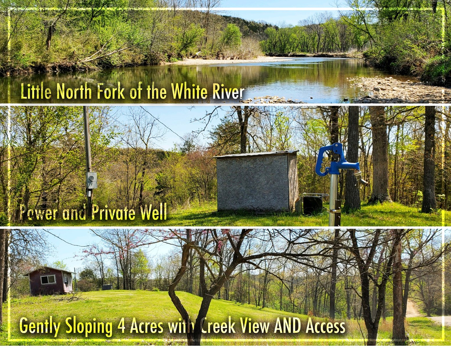 Beautiful Land Tract for Sale in Southern Missouri Ozarks