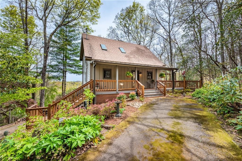 Country Home for sale, Jasper, GA, Mountain View, Creek