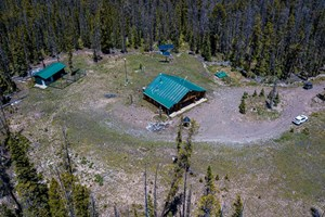 HUNTING CABIN FOR SALE COLORADO NATIONAL FOREST INHOLDING