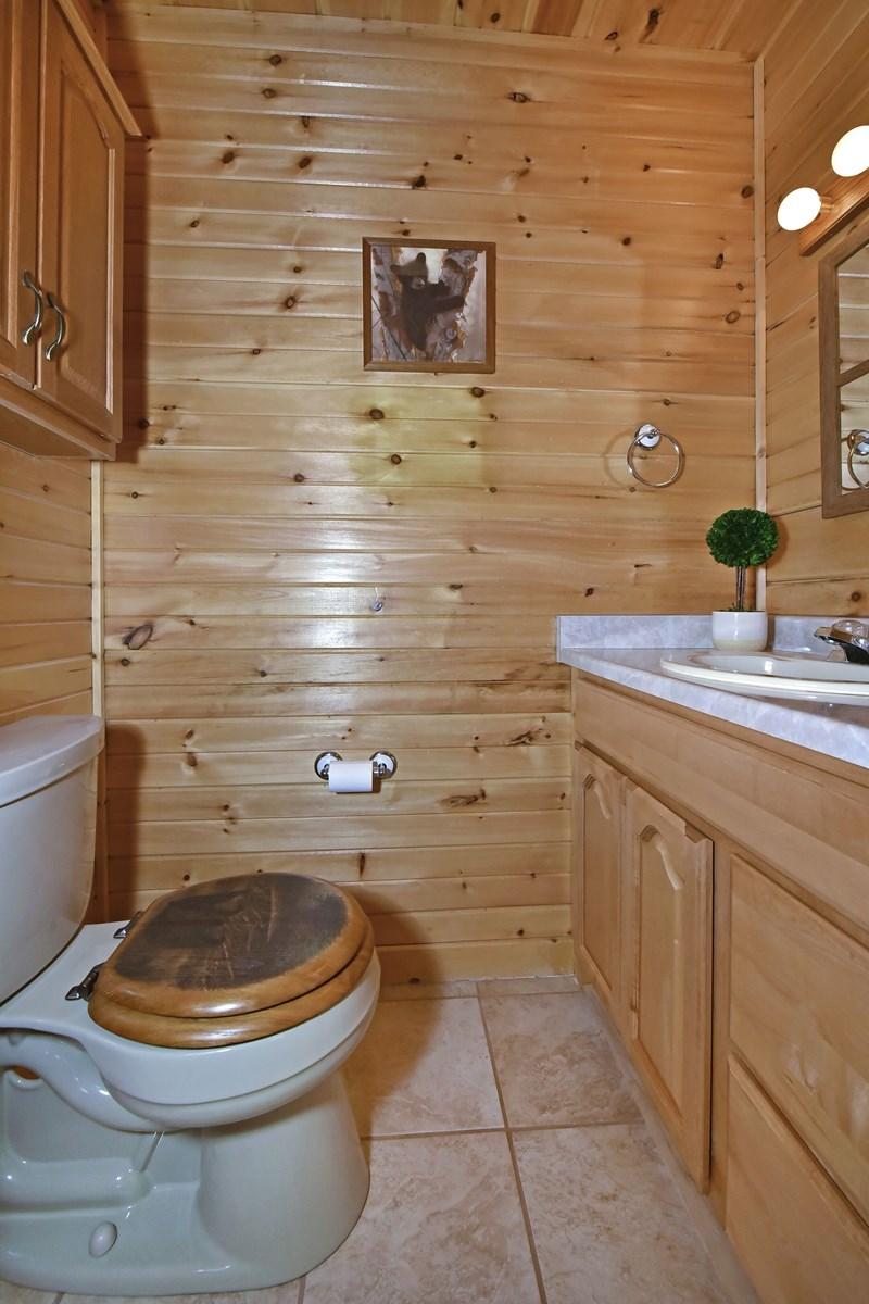 Master toilet area