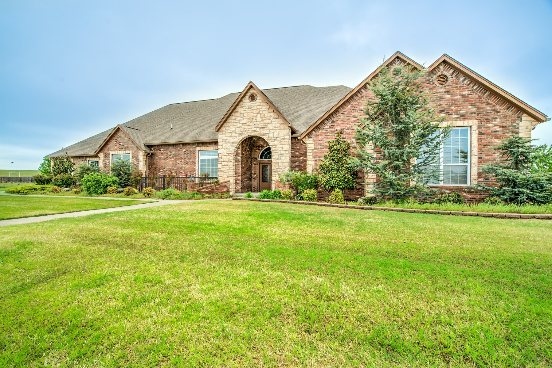 Country Custom Home in Clinton For Sale