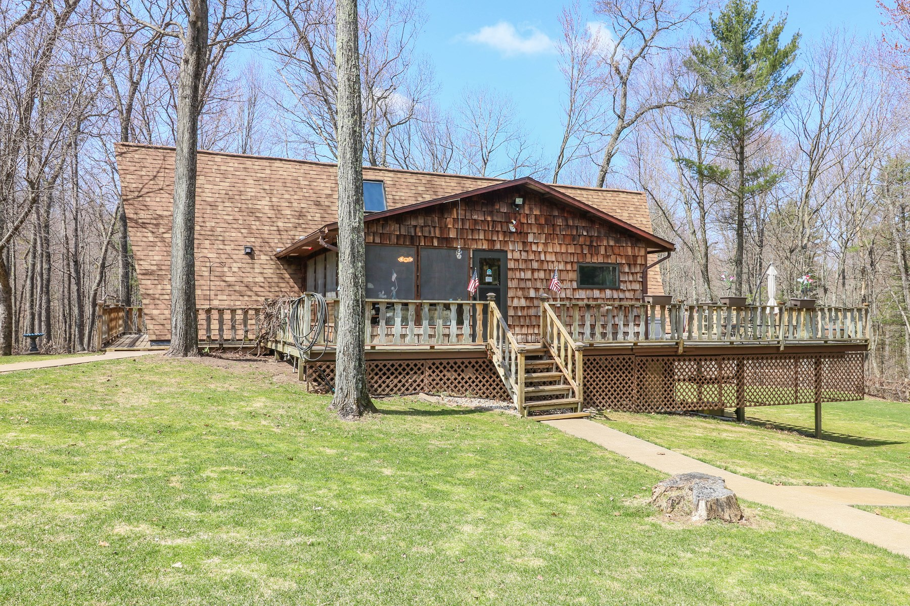 Country Home for sale + Acreage in Iola, Waupaca County, WI