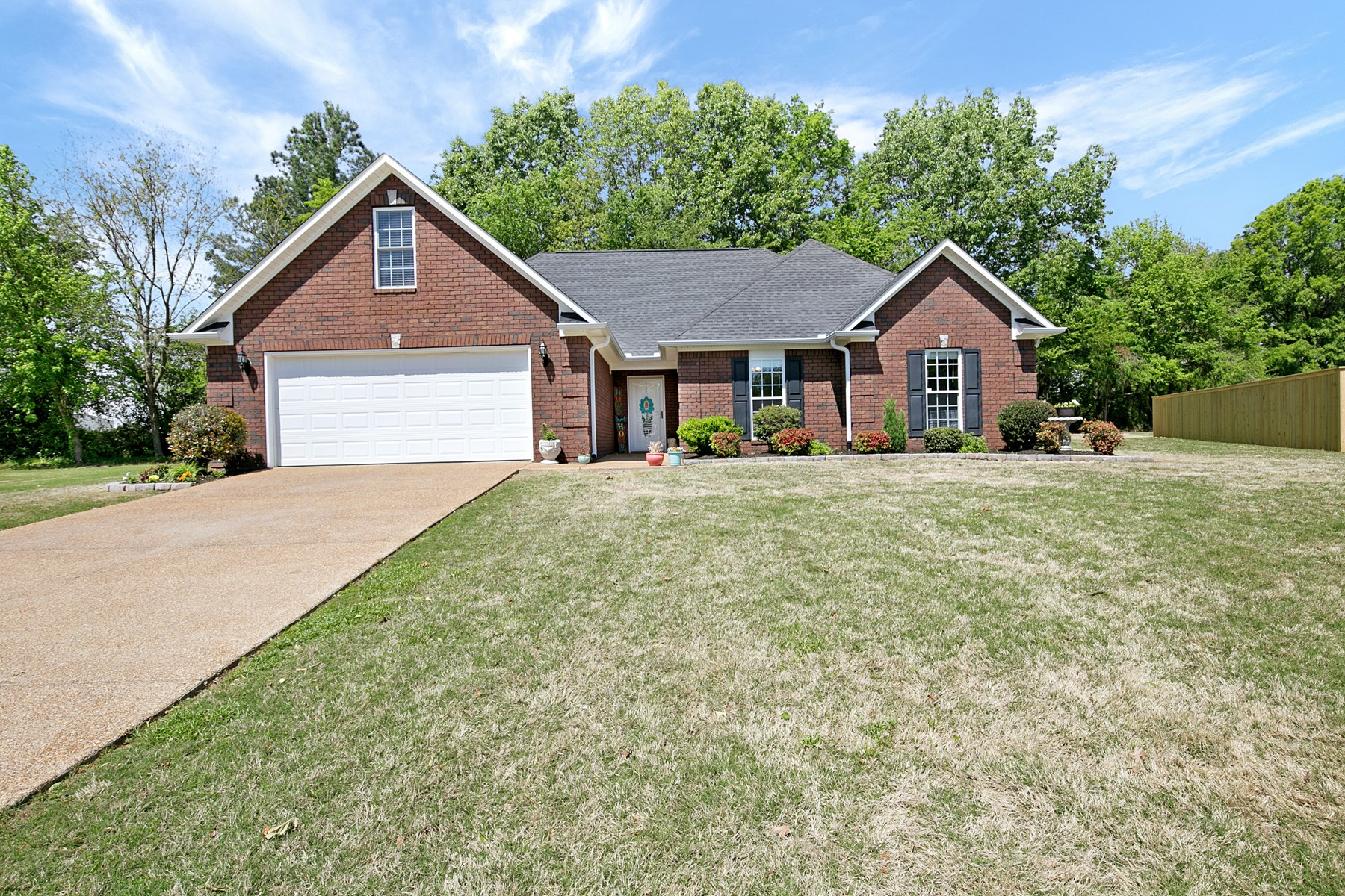 4 BR / 2 BA Brick Home For Sale Near Schools in Milan, TN