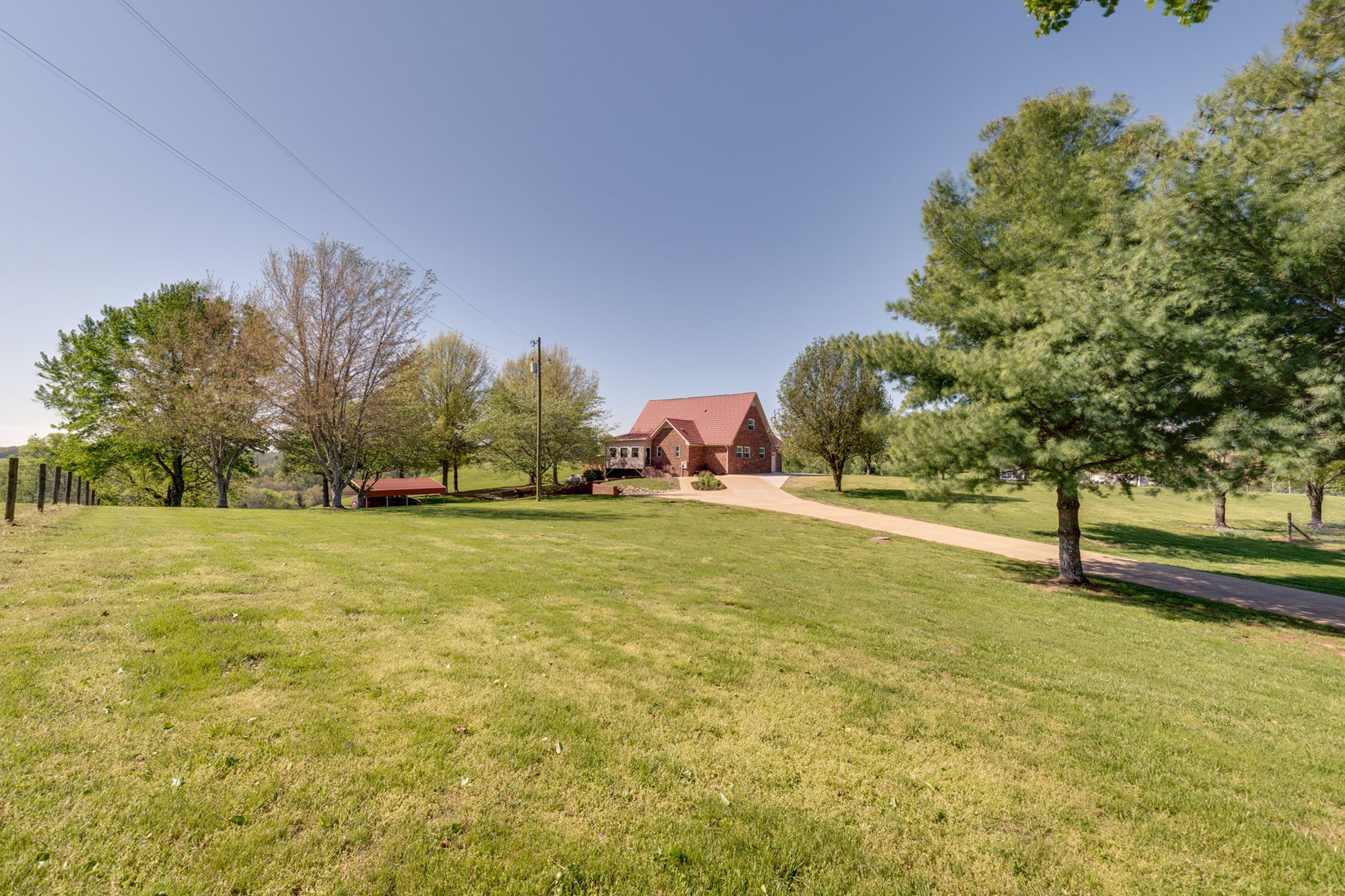Country Home for Sale, in the Hills of Lynnville, Tennessee